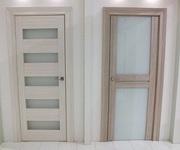 Двери межкомнатные из евро бруса массива и эко шпона с установкой