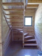 Изготовление лестниц по индивидуальным проектам.Звоните