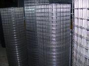 Сетка сварная оцинкованная 25х25х1, 6 в рулонах размером 1х25 метров