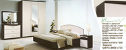 Элегантная Спальня с комбинированным цветом Венге/Дуб.молочный.