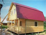 Дом Баня из бруса на заказ за 15 дней в Ивенец и район