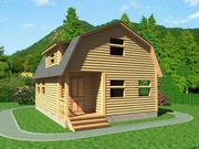 Дачный недорогой Дом из бруса установка в Осиповичи