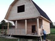 Дома из бруса Алексей 6×6 с установкой от 10 дней