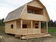 Дома из бруса Артем 6×8 с установкой от 10 дней
