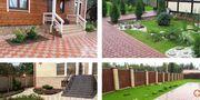 Укладка тротуарной плитки-мощение обьем от 40 м2 Дзержинск и район.