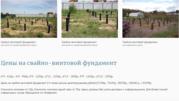 Установка Свайно-Винтового Фундамента под ключ Воложин и район