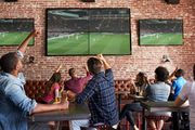 Популярный спорт-бар