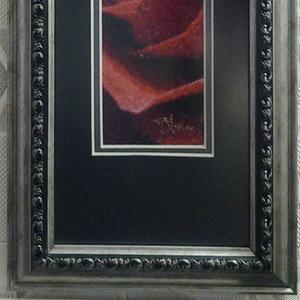 Картина «Красная роза», ручная работа.