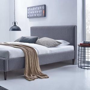 Кровать FLEXY (серый),  с основанием 160х200.