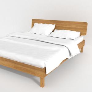 Кровать из массива дуба.