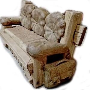 Диван из массива Дуба – Уютный.