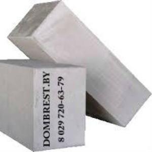 Блоки газосиликатные в Бресте, стеновые и перегородочные