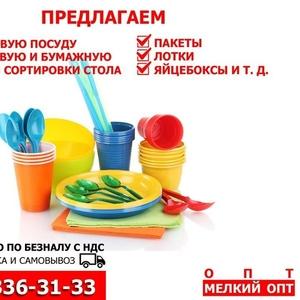 Пластиковая и бумажная одноразовая посуда РБ