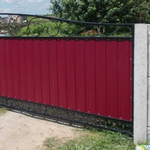 Заборы,  ворота и др. металлоконструкции любой сложности.
