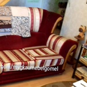 Ремонт реставрация перетяжка обивка мягкой мебели в Гомеле