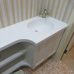 Столешница из камня № 8 для ванной на заказ