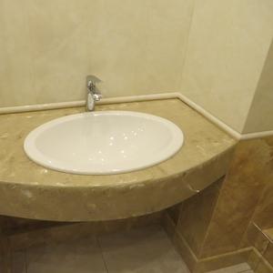 Столешница из камня № 3 для ванной на заказ