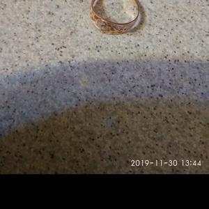 Шикарное кольцо 17, 5,   585 пр,  белое и желтое золото