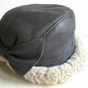 Женская зимняя шапка из натуральной овчины,  размер 58