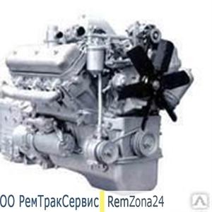 Двигатель ЯМЗ 236 после капитального ремонта (новая поршневая,  вал ном