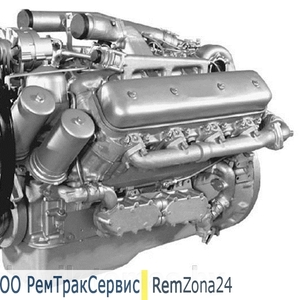 Двигатель ЯМЗ 7511 после капитального ремонта