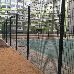 Ограждения для спортивных площадок. Металлоконструкции