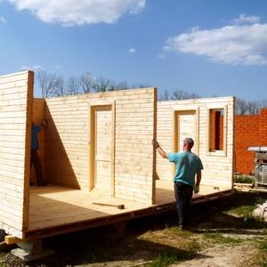 Строительство деревянных домов от 50 руб./кв.м