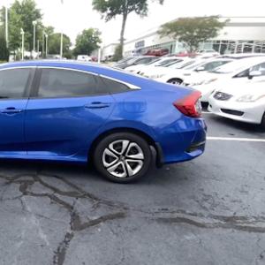Honda,  Civic Sedan LX,  2017
