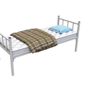 Одноярусные металлические кровати