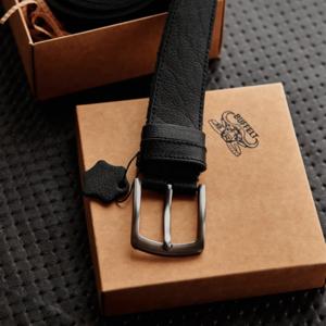 Мужской ремень из натуральной кожи Buffelts
