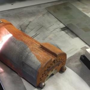 Лазерная чистка металла