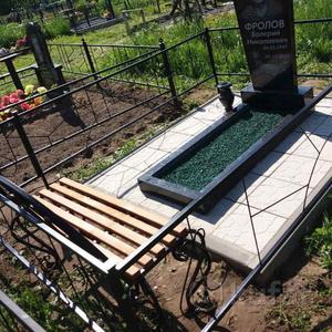 Благоустройство могил, установим памятник под ключ