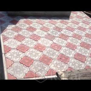 Укладка Плитки,  Керамогранита,  бордюра на кладбище