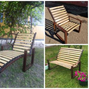 Мебель садовая (диван садовый,  кресло садовое,  кресло садовое-лежак и