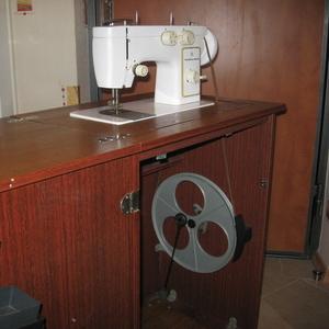 Швейная машина Чайка142М-22,  многооперационная,  б/у,  в отличном сост.