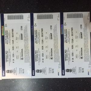 Билеты на ЧМ по хоккею 2016 сша-венгрия в Питере 13 мая