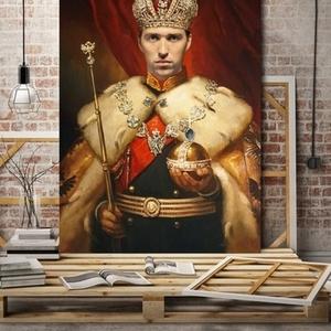 Портрет на холсте по фотографии в Минске. Печать на холсте