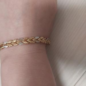 Золотая цепочка+ браслет в хорошем состоянии